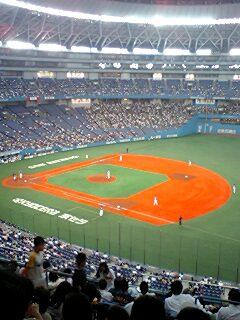 京セラドーム大阪に来たよ